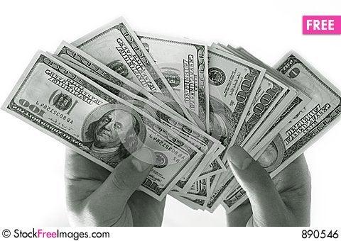 Free Dollars - 1 Royalty Free Stock Image - 890546