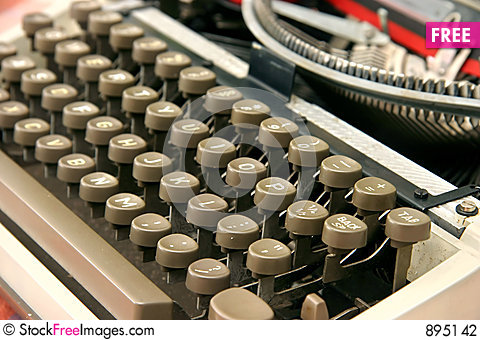 Free Typewriter Stock Photography - 895142