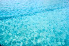 Free Cool Blue Water Royalty Free Stock Image - 891096