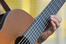 Free Acoustic Guitar Royalty Free Stock Images - 891529