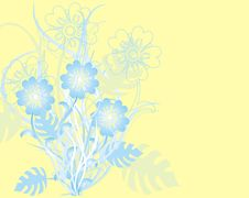 Free Floral Background, Vector Stock Image - 892451