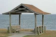 Free Beach Shelter Royalty Free Stock Photography - 892607