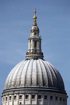 Free The Dome Of St Pauls Cathedral Stock Images - 893554