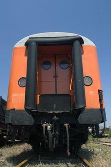 Orange Waggon Stock Photos