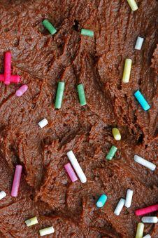 Free Chocolate Cake Macro Background Royalty Free Stock Image - 894216