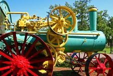 Free Steam Tractor 2 Royalty Free Stock Photography - 894277