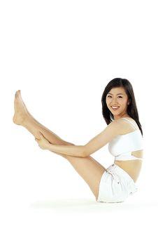 Free Korean Woman Royalty Free Stock Photos - 894958