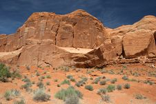 Free Arches National Park Royalty Free Stock Image - 896386