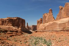 Free Arches National Park Royalty Free Stock Photo - 896405