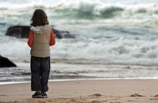 Free On The Beach Stock Photography - 897032