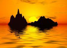 Free Sunset Scenics Stock Image - 897321