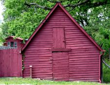 Free Red Barn Stock Images - 897914