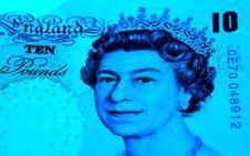 English Pounds Stock Image