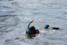 Free Snorkeling Stock Photography - 898242