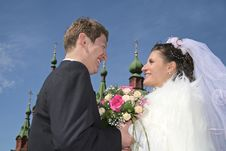 Free Happy Married Stock Photography - 898292