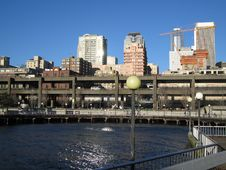 Free Seattle Waterfront Royalty Free Stock Image - 898856