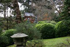 Japanese Tea Gardens Stock Image