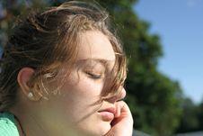 Free Girl Meditation Royalty Free Stock Photography - 899237