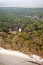 Free Aerial Lighthouse Hrd Royalty Free Stock Photography - 8900287