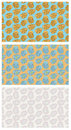 Free Funky Flowers Seamless Pattern Stock Photos - 8904203