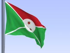 Free Burundi Flag Stock Images - 8900654