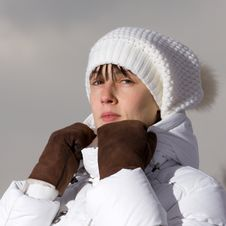 Free Winter Girl Royalty Free Stock Photo - 8900965