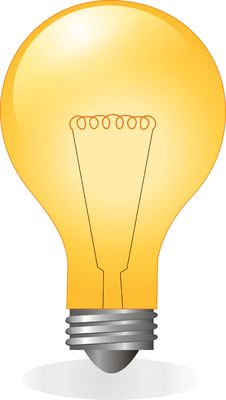Free Light Bulb Royalty Free Stock Images - 8901009