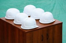 Free Hard Hats. Stock Images - 8901134