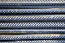 Free Stack Of Metal Rods Stock Photography - 8901562