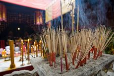 Free Joss Sticks Stock Photo - 8901630