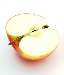 Free Half Apple Stock Photo - 8901860