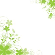 Free Abstract Floral Background Royalty Free Stock Photography - 8902297
