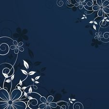 Free Abstract Floral Backgroun Stock Photography - 8902332
