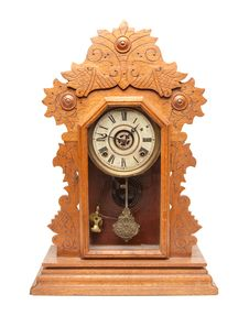 Free Vintage Antique Clock Royalty Free Stock Photos - 8902568