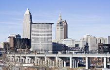 Free Skyline Of Cleveland Stock Photography - 8903512