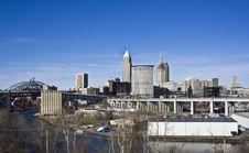 Free Skyline Of Cleveland Stock Photography - 8903522