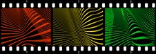 Free Filmstrip Abstract Wave Strips Royalty Free Stock Photography - 8904307
