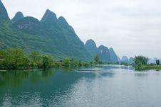 Free Ulong River Near Yangshuo Stock Photography - 8904512