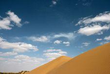 Free Desert With Blue Sky Stock Photos - 8904893