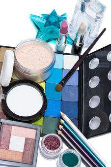 Free Make-up Set Stock Image - 8905631
