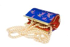 Free Purse With Decoration Stock Photos - 8906533