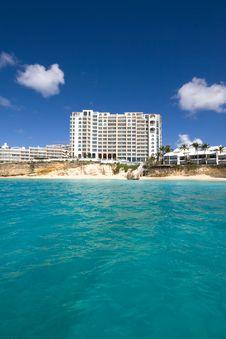 Free Caribbean Resort Royalty Free Stock Photography - 8907887