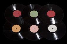 Free Vinyl Records Royalty Free Stock Image - 8908626
