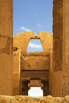 Free Temple Of Concord - Sicily Stock Photography - 8909092