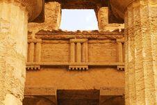 Free Temple Of Concord - Sicily Stock Photo - 8909110