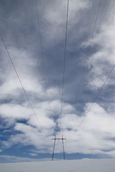Free Electric Lines Stock Photo - 8909430