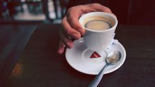 Free Person Holding Cup Of Coffee Royalty Free Stock Photo - 89059565