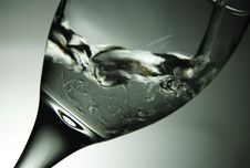 Free Clear Water In Wine Glass Stock Photo - 89061080