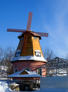 Free Windmill. Stock Photo - 8911250