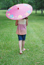 Free Girl With Parasol Royalty Free Stock Images - 8918669